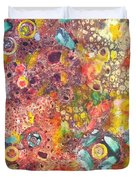 Abstract Colorama Duvet Cover