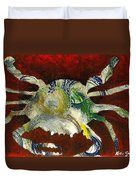 Abstract Crab Duvet Cover