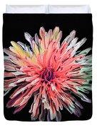 Abstract Chrysanthemum Duvet Cover