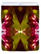 Abstract Crystal Butterfly Duvet Cover