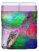 Abstract Cubed 1 Duvet Cover