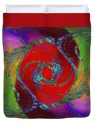 Abstract Cubed 189 Duvet Cover