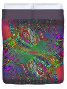 Abstract Cubed 194 Duvet Cover
