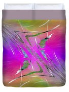 Abstract Cubed 223 Duvet Cover