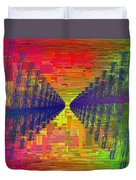 Abstract Cubed 3 Duvet Cover