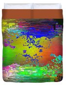 Abstract Cubed 64 Duvet Cover