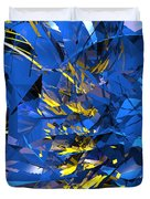Abstract Curvy 10 Duvet Cover