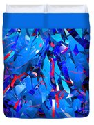 Abstract Curvy 15 Duvet Cover