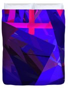 Abstract Curvy 17 Duvet Cover
