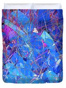 Abstract Curvy 30 Duvet Cover