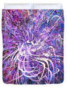 Abstract Curvy 32 Duvet Cover