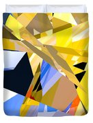 Abstract Curvy 35 Duvet Cover