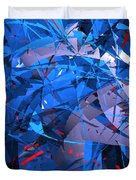 Abstract Curvy 9 Duvet Cover