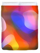 Abstract Dappled Sunlight Duvet Cover