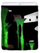 Green Sensation Duvet Cover