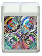 Abstract Digital Art Collage Duvet Cover