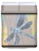 Abstract Dragonfly Duvet Cover