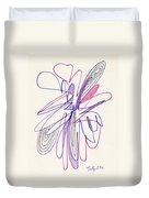 Abstract Drawing Fifty-six Duvet Cover