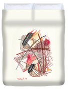Abstract Drawing Twenty-one Duvet Cover