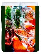 Abstract Drink Duvet Cover