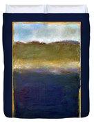 Abstract Dunes Ll Duvet Cover