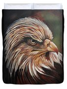 Abstract Eagle Painting Duvet Cover