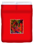 Abstract - Emotion - Rage Duvet Cover