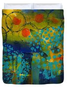 Abstract Expressions - Background Art Duvet Cover