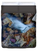 Abstract Falls Duvet Cover by Chad Dutson
