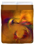 Abstract Fine Art Print High Spirits Duvet Cover