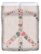 Peace Symbol Design - S77bt01 Duvet Cover
