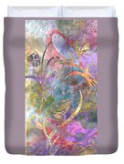 Abstract Floral Designe - Panel 1 Duvet Cover