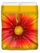 Abstract Flower A Duvet Cover