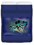 Abstract Flower - Digital Abstract Duvet Cover