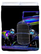 Abstract Ford - Classic Hotrods Duvet Cover