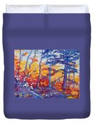 Abstract Forest No. 1 Duvet Cover