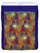 Abstract Fusion 142  Duvet Cover