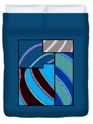 Abstract Fusion 143 Duvet Cover