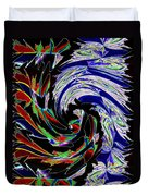 Abstract Fusion 161   Duvet Cover