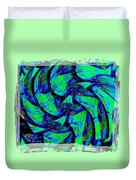 Abstract Fusion 167 Duvet Cover