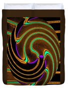Abstract Fusion 174 Duvet Cover