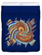 Abstract Fusion 176 Duvet Cover