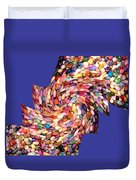 Abstract Fusion 189 Duvet Cover