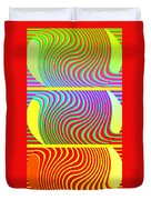 Abstract Fusion 205 Duvet Cover