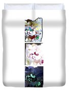 Abstract Fusion 213 Duvet Cover