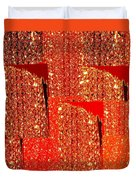 Abstract Fusion 228 Duvet Cover