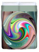 Abstract Fusion 241 Duvet Cover