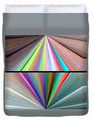 Abstract Fusion 242 Duvet Cover