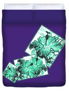 Abstract Fusion 244 Duvet Cover