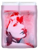 Abstract Garbo Duvet Cover